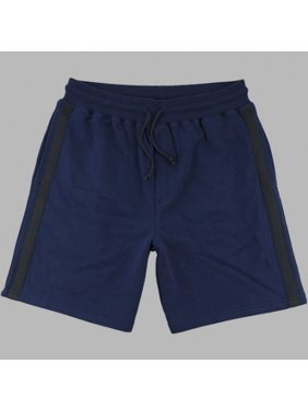 Boxercraft R70NCH Mens Navy and Charcoal Stadium Short