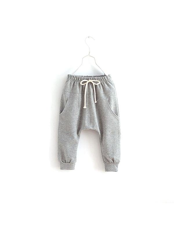 Ropalia Kids Baby Boy Girl Cotton Harem Pants Toddler Stretch Trousers