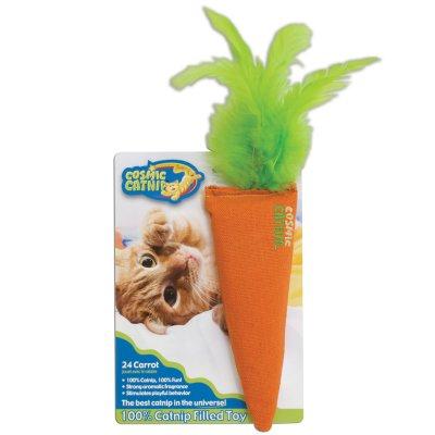 Our Pets 1050011544 24 Karat Catnip Carrot Cat Toy