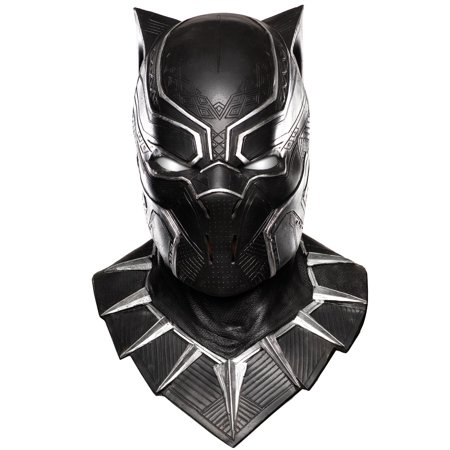 Adults Deluxe Captain America Civil War Black Panther Mask Costume Accessory - Captian America Mask