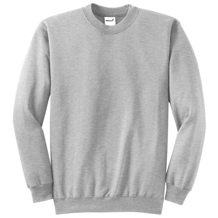 - Mafoose Men's Core Fleece Classic Crewneck Sweatshirt Ash S