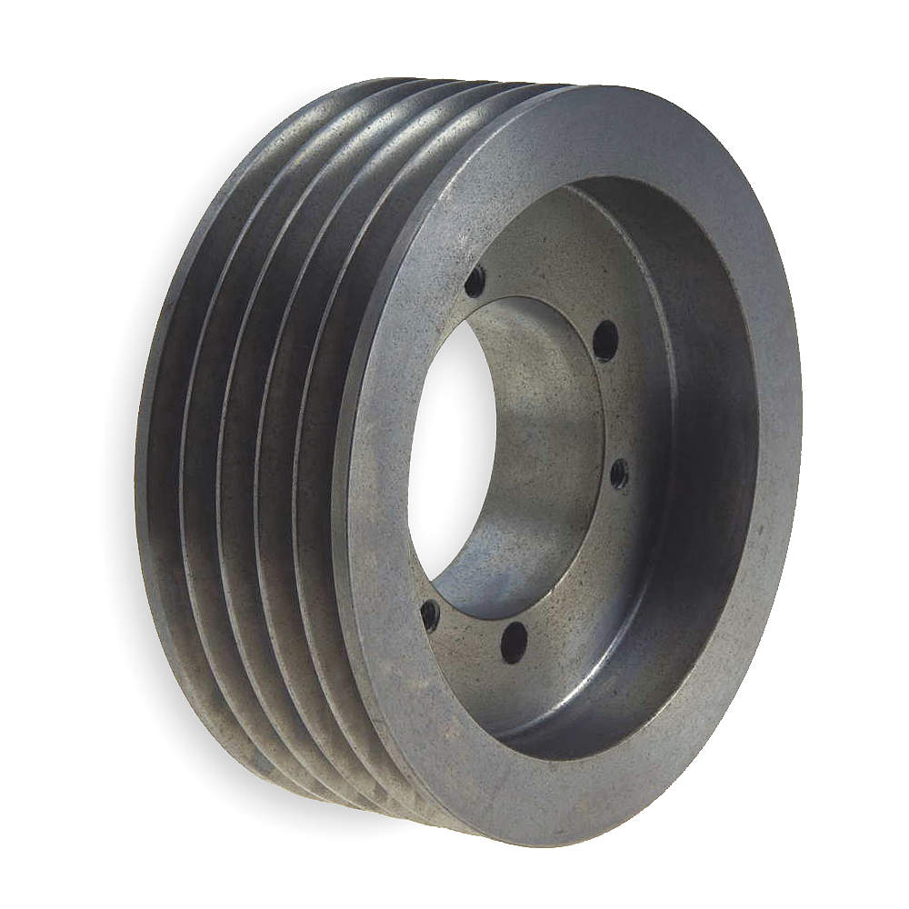 "Gates V-Belt Pulley, Detachable, 5Groove, 7.1""OD QD5/5V7.10"