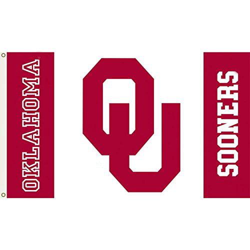 DEYOU Oklahoma Sooners Flag 3x5 Feet Banner Flag