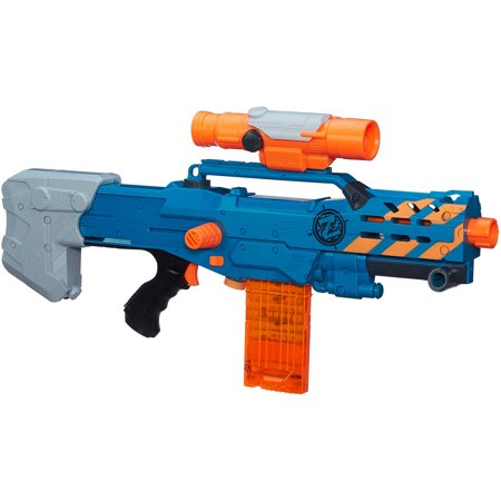 nerf zombie strike zed squad longshot cs 12 blaster. Black Bedroom Furniture Sets. Home Design Ideas