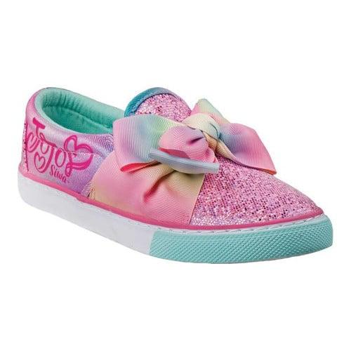 Girls' Josmo O-CH0533 JoJo Slip-on Bow Sneaker by JoJo