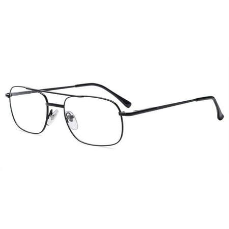 Contour Mens Prescription Glasses, FM4025 Black ()
