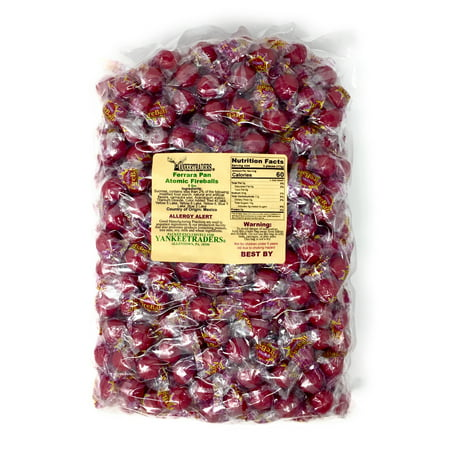 Atomic Fireballs Candy, 80 oz. ~ Original Small Size](Ferrara Pan Candy)