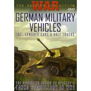 German Military Vehicles: Armored Cars & Half-Tracks (DVD)