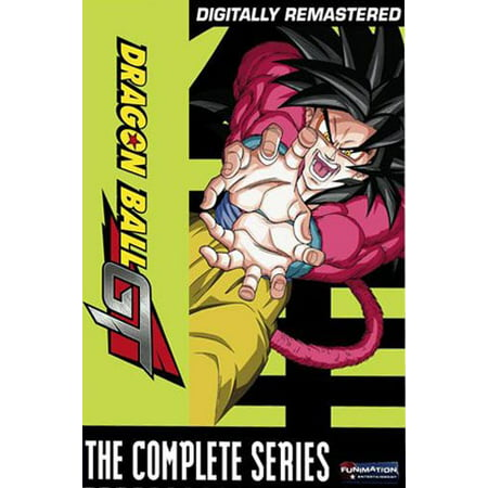 Dragon Ball GT: The Complete Series (DVD) (Best Dragon Ball Sagas)