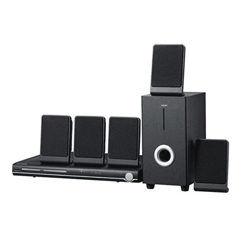 Sylvania Curtis 5.1 Channel Progressive Scan DVD Mini Bookshelf Home Theater Speaker System SDVD5088-B Manufacturer... by Sylvania