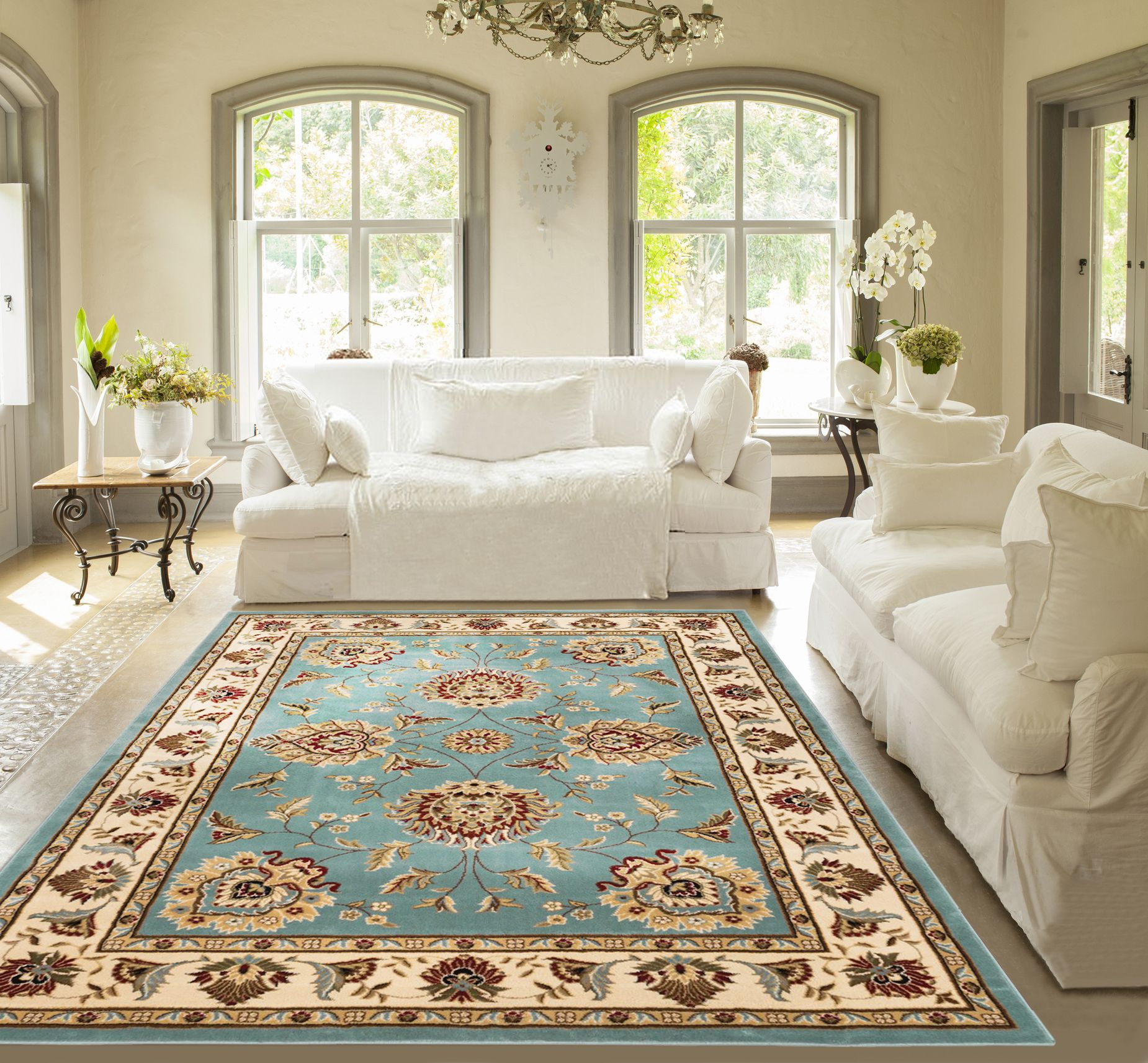 Well Woven Timeless Abbasi Traditional Area or Runner Rug