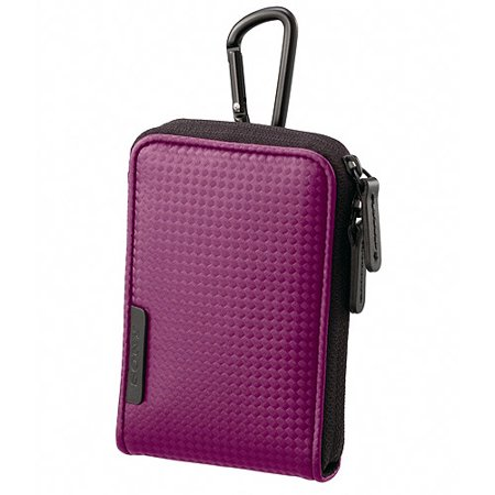 Sony Camera Case with Carabiner, Violet
