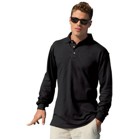Men's Meridian Long Sleeve Mesh Polo (Sleeved Mesh Polo)