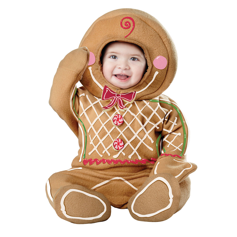Infant Gingerbread Man Halloween Costume