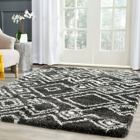Safavieh Belize Haven Abstract Plush Shag Area Rug or Runner