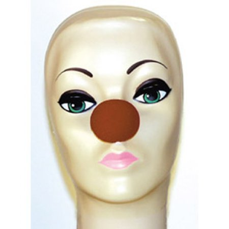 Magic By Gosh Brown Foam Clown Noses (1 5/8