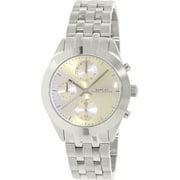 Marc Jacobs Women's Peeker MBM3370 Silver Stainless-Steel Quartz Watch