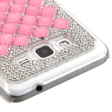 new concept 3d282 09499 Samsung Galaxy Grand Prime Phone Case, by Insten Hard Rhinestone Case For  Samsung Galaxy Grand Prime case cover