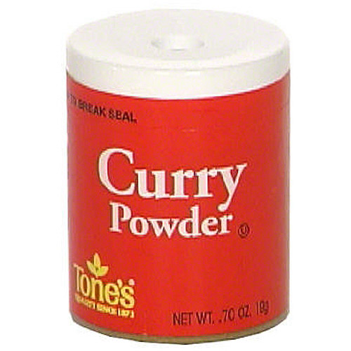 Tone's Curry Powder, 0.70 oz (Pack of 6)