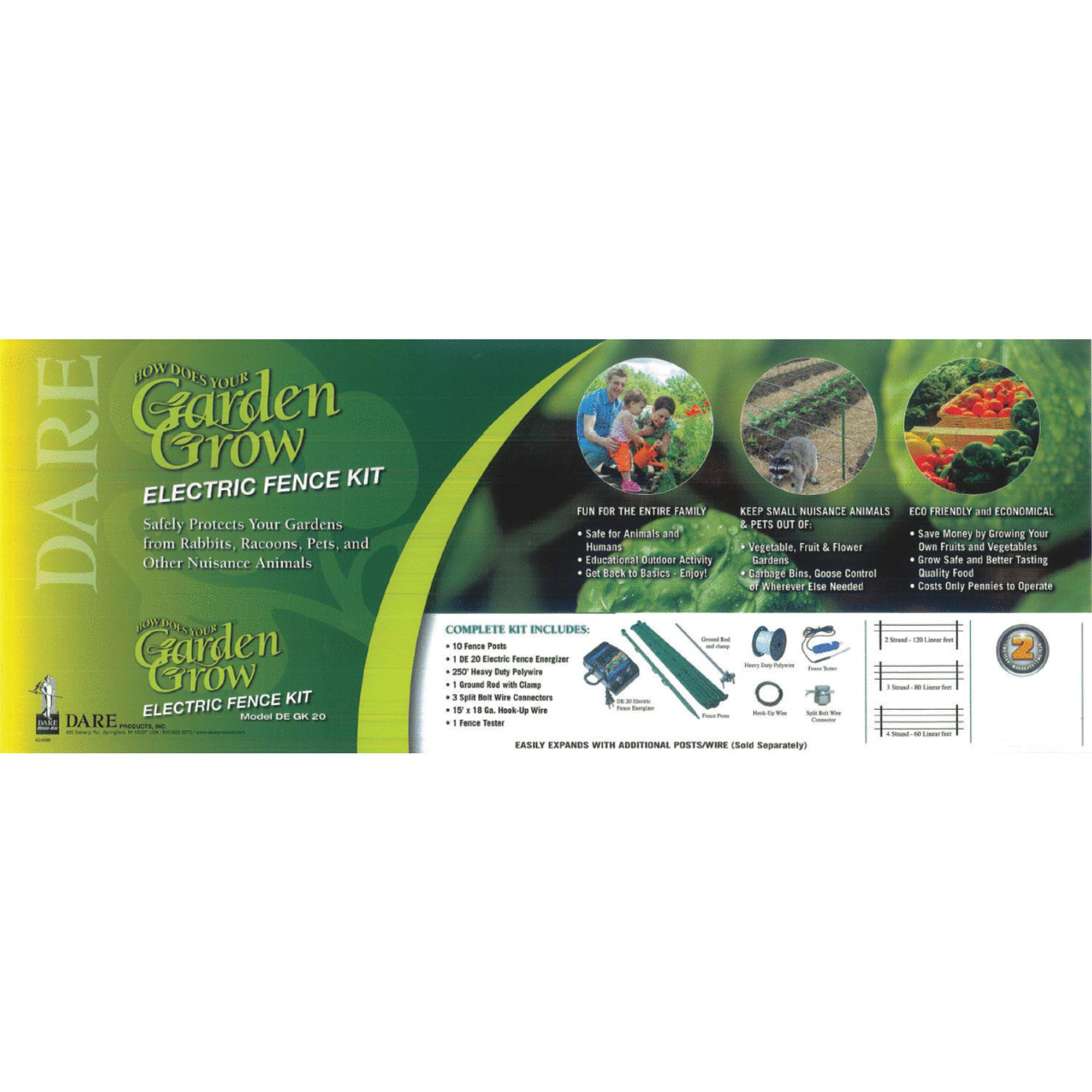 Dare Garden Safe Electric Fence Kit