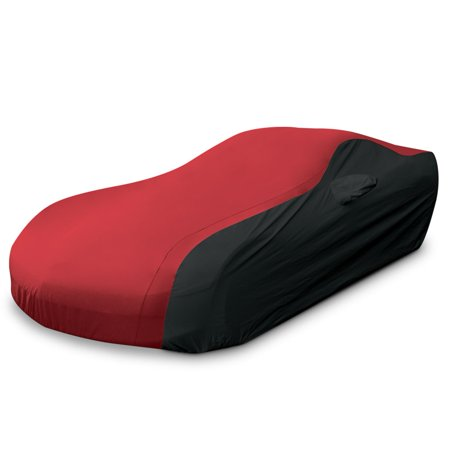 Corvette Ultraguard Car Cover - Indoor/Outdoor Protection : Red/Black - 2005-2013 C6, Z06, ZR1, Grand