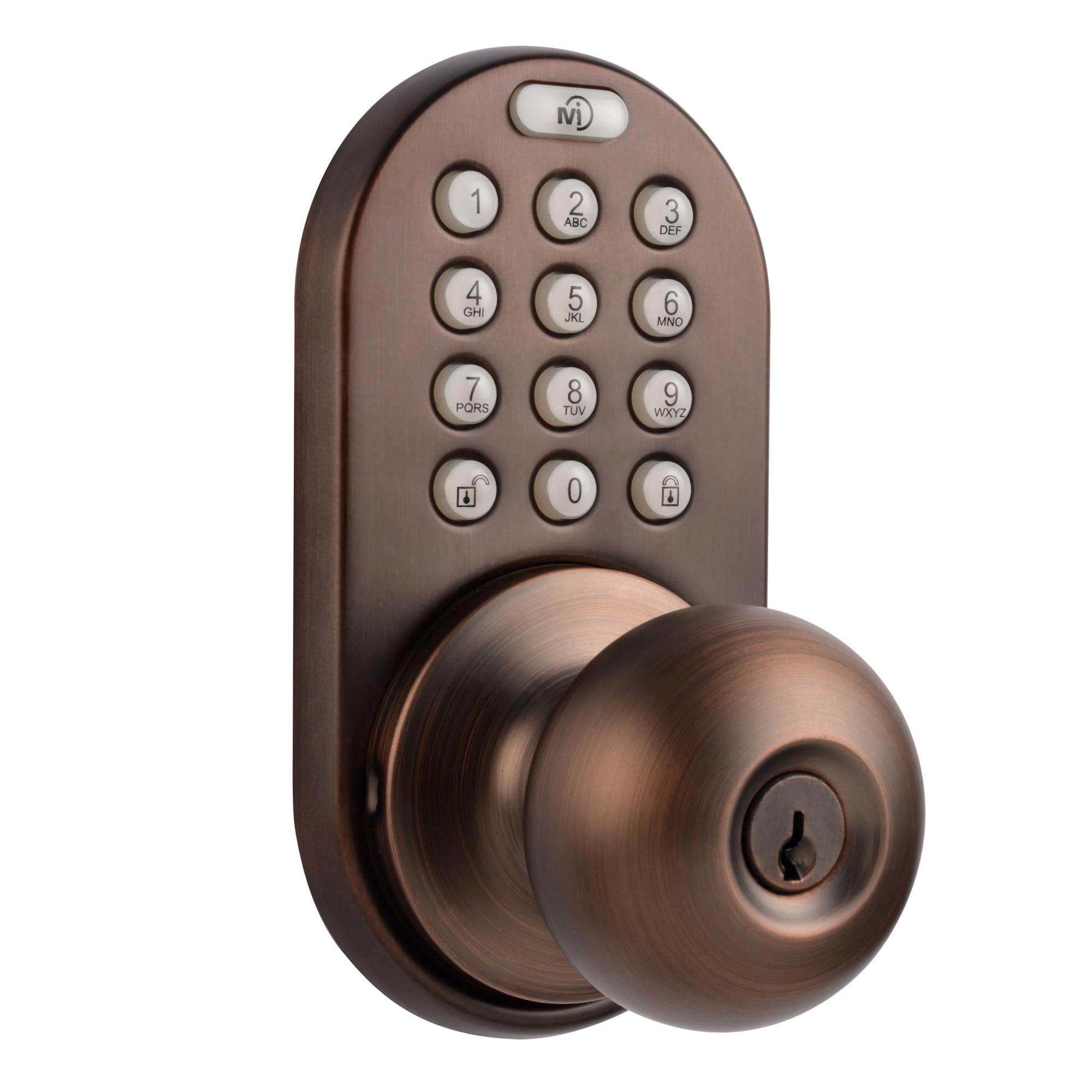 MiLocks Keypad Knob Oil Rubbed Bronze