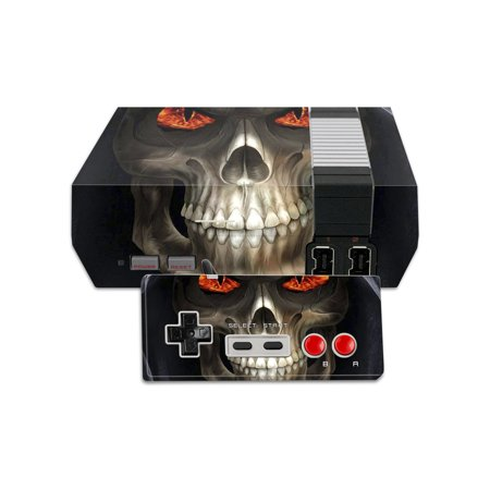 Mightyskins Protective Vinyl Skin Decal For Nintendo Nes Classic Edition Wrap Cover Sticker Skins Evil Reaper