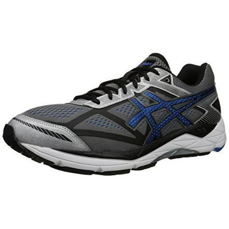 ASICS Men's Gel Foundation 12 Running Shoe, CarbonElectric BlueBlack, 14 4E US