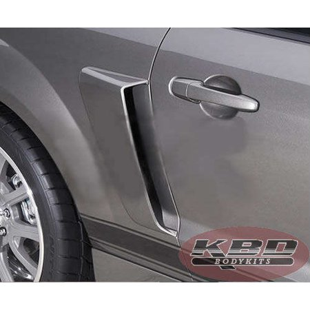 Ford Mustang 2005-2009 K Spec Style 2 Piece Polyurethane Side (Ford Mustang Side Scoop)