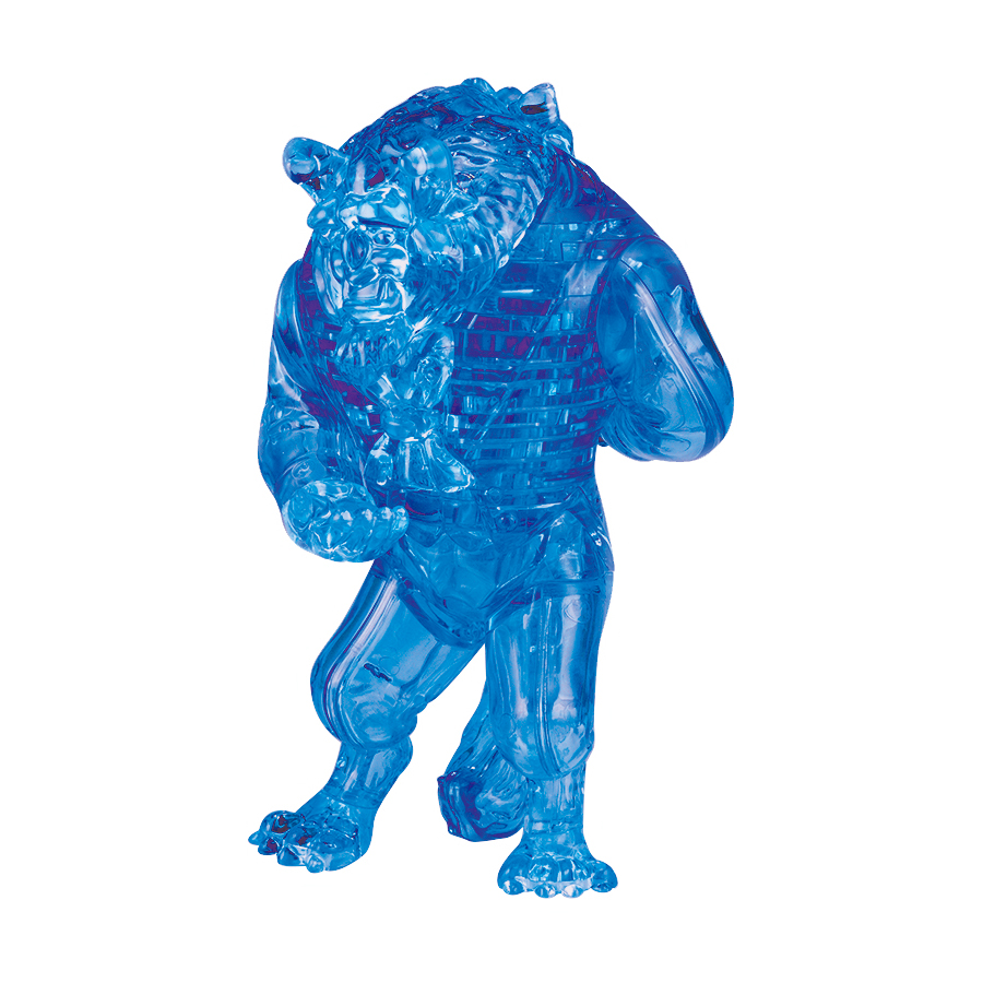 Deluxe Disney 3D Crystal Puzzle - The Beast, 49 Pcs