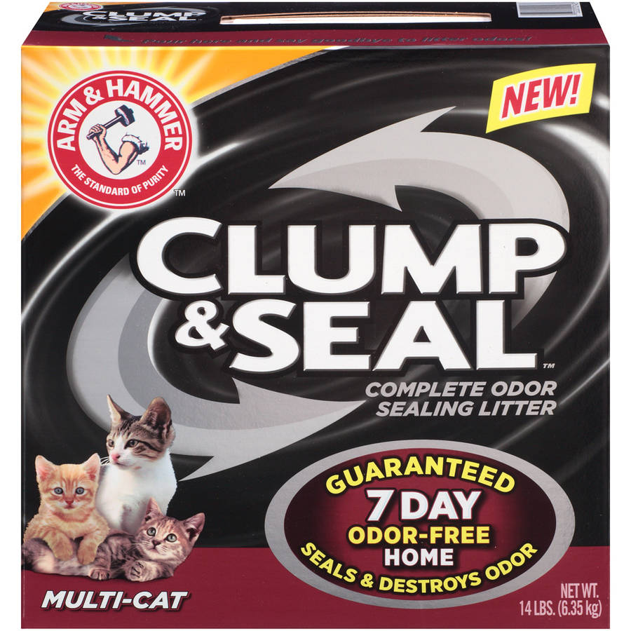 Arm & Hammer Clump & Seal Multi-Cat Complete Odor Sealing Litter 14 lb. Box