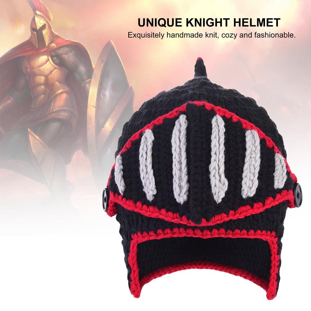 Vbiger Woolen Rome Knights Knit Cap Unisex Beanie Halloween Hat With