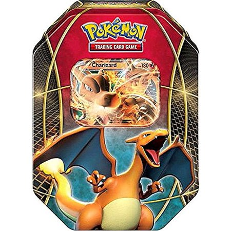 Pokemon TCG Card Game Charizard EX 2015 Power Trio Collector's Tin (Charizard Ex)
