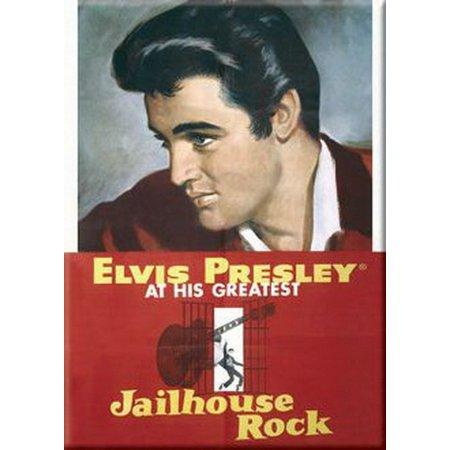 Elvis Presley Jailhouse Rock Movie Magnet 26377E