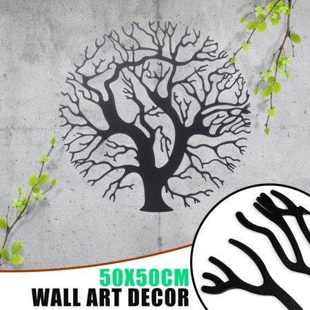 20 Tree Of Life Wall Art Metal Hanging Round Sculpture Bedroom Garden Decor Walmart Canada