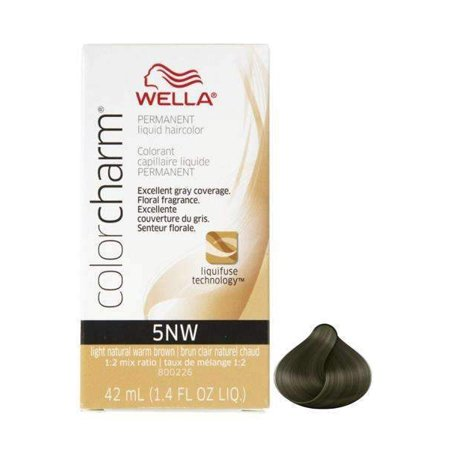 Wella Color Charm #5NW Light Natural Warm Brown (1.4oz) - image 2 of 2