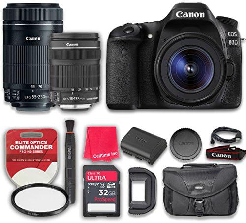 Canon EOS 80D DSLR Digital SLR Camera & EF-S 18-135mm f/3.5-5.6