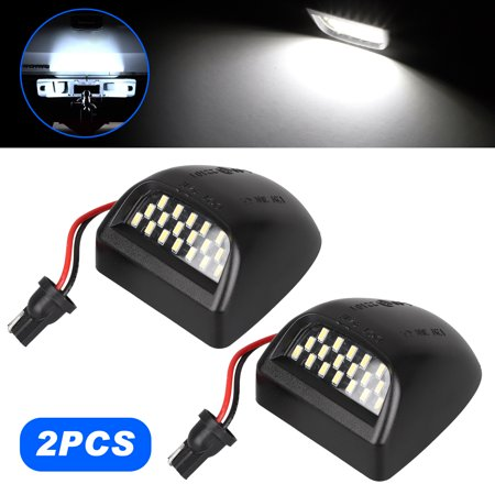 EEEkit 2 Pack 12V 36 LEDs License Plate Lamp Light for Truck SUV Trailer Van, Step Courtesy Lights, Dome/Cargo Lights or Under Hood