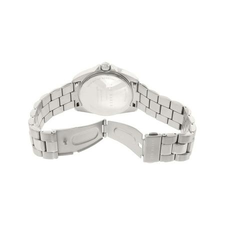 c46af8599217 Ted Baker Men s 10025264 Silver Stainless-Steel Plated Japanese Quartz  Dress Watch - image 1 ...