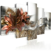 5PCS Modern Art Oil Painting Drawing Canvas Print Wall Picture Decor Unframed