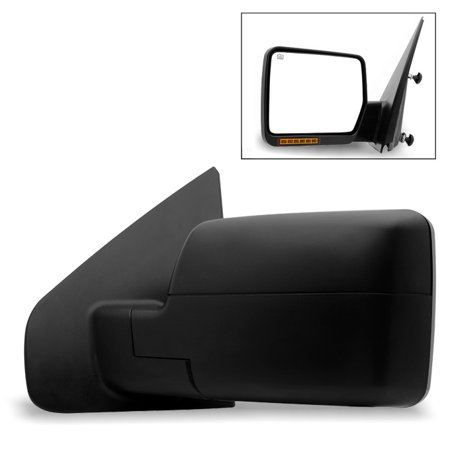 Fit 2004-2006 Ford F150 Power Heated Driver Side Mirror w/Build-in LED Signal