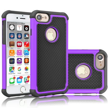 iPhone 7 Case, Tekcoo™ [Tmajor Series] iPhone 7 (4.7 INCH) Case Shock Absorbing Hybrid Best Impact Defender Rugged Slim Cover Shell w/ Plastic Outer & Rubber Silicone