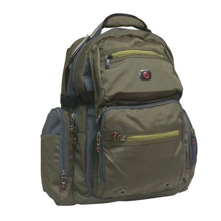 SwissGear Swiss Gear Breaker Olive Polyester 16-inch Laptop Backpack