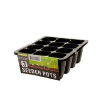 Seeder Pots Set Contains 3 Pots Fast and Convenient Way to Start Planting
