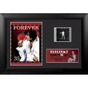 Trend Setters Elvis Presley 35th Anniversary Mini FilmCell Presentation by Betty Harper Framed Memorabilia