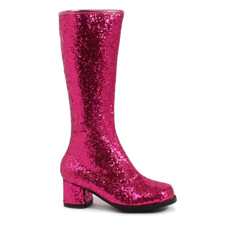 175-DORA-G, 1.75'' Heel Childrens Glitter Gogo Boot. (Halloween Stoes)