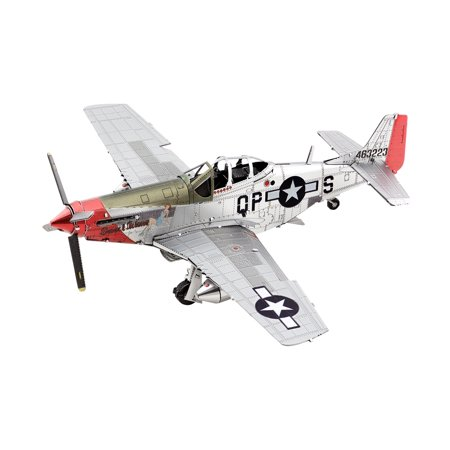"Metal Earth 3D Metal Model Kit - P-51D Mustang ""Sweet Arlene"""