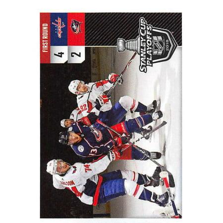 2018-19 Panini NHL Stickers #558 Washington Capitals vs. Columbus Blue Jackets Hockey Card Blue Jackets Hockey