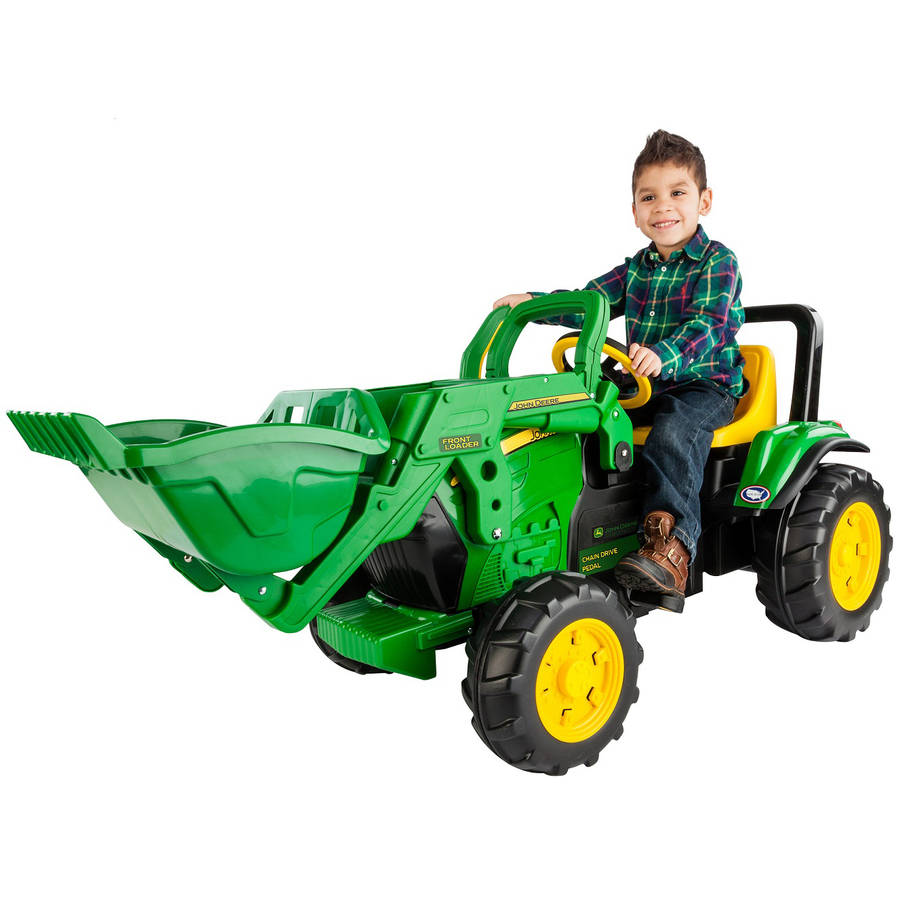 Peg Perego John Deere Front Loader Ride-On Pedal Tractor
