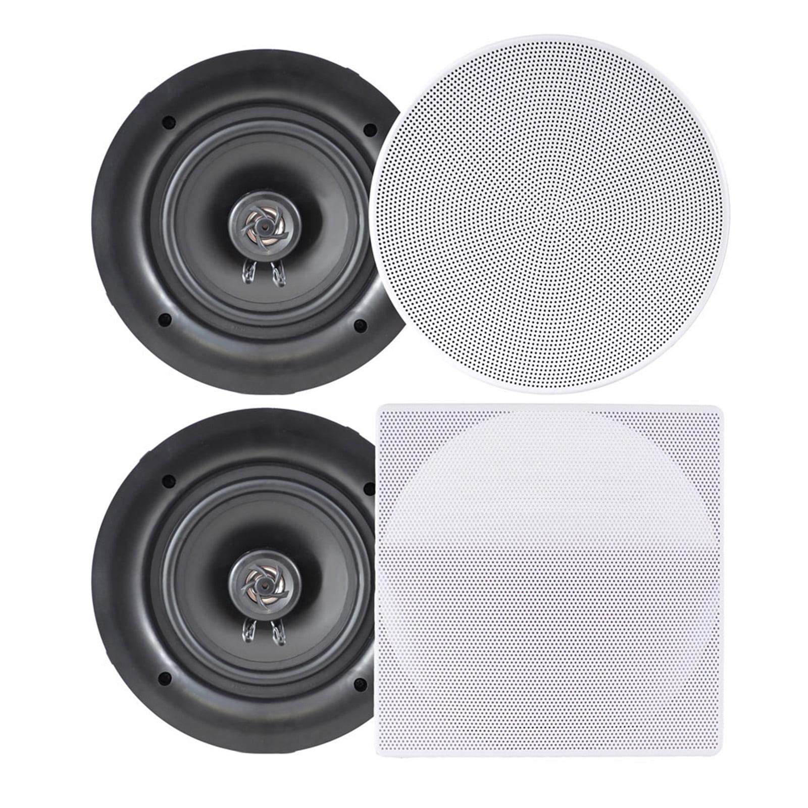 "Pyle 6.5"" In-Wall / In-Ceiling Dual Stereo Speakers, 200"